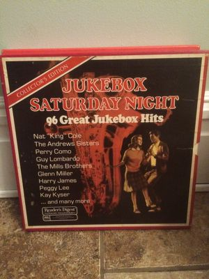 Jukebox Saturday Night 8 records set for Sale in St. Louis, MO