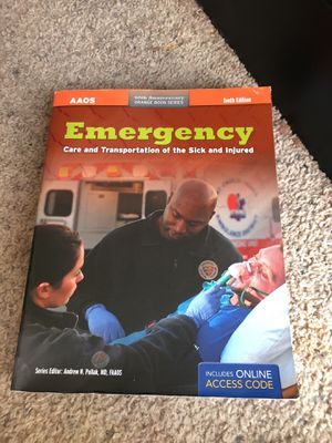Emt 111 college text book for Sale in Manassas, VA