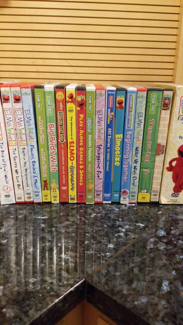 Elmo Dvds Collection For Sale In Antioch Il Offerup