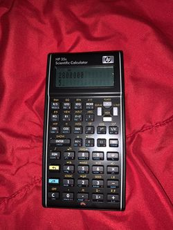HP 35S Scientific Calculator (Scientifique) Thumbnail