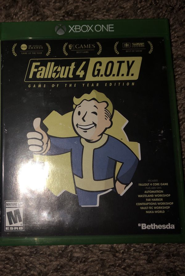 Fallout 4 GOTY Xbox One for Sale in San Bernardino, CA - OfferUp