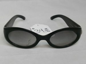 $35 - Escada E1121 G0/D Polished Black Sunglasses 50 21 125 for Sale in Spring Valley, CA