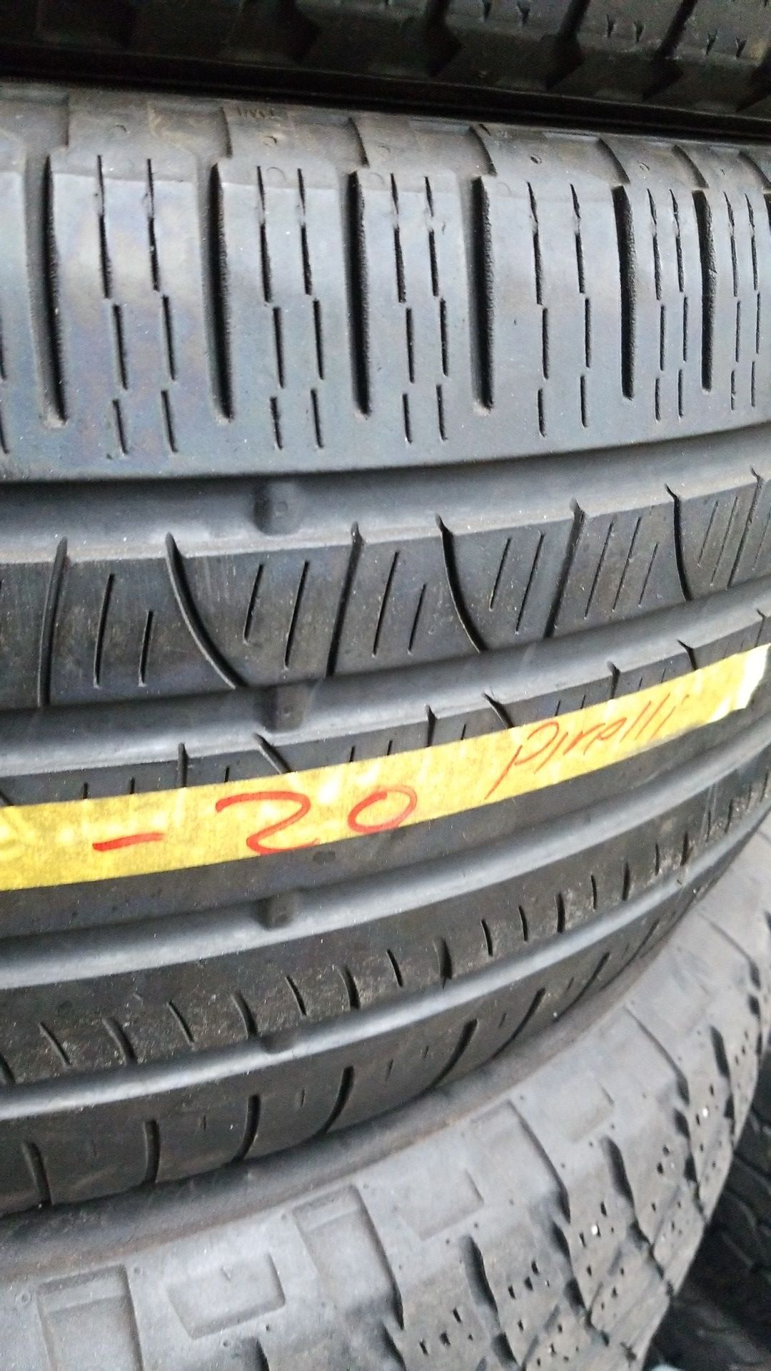 265 50 20 used tires. ONLY 2