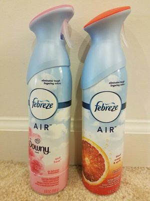 Febreze Air Effects - 2 for $5 or 5 for $10 for Sale in Rockville, MD