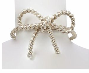 Beautiful sterling silver Tiffany's braided bow ring for Sale in Silver Spring, MD