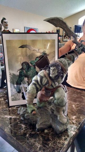 Skaar Son of Hulk statue Premium Format Figure Sideshow Collectibles Marvel for Sale in Kissimmee, FL