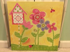 Canvas Wall Art Oopsy Daisy Too Fine Art for Kids for Sale in Herndon, VA