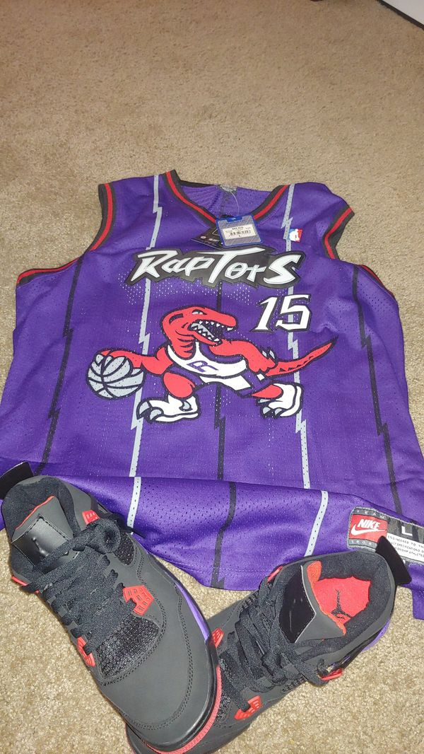 21ef1137f9fa Raptors 4s and jersey for Sale in Phoenix