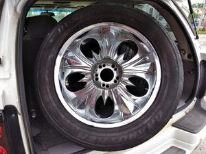 Rims and tires. for Sale in Cleveland, OH
