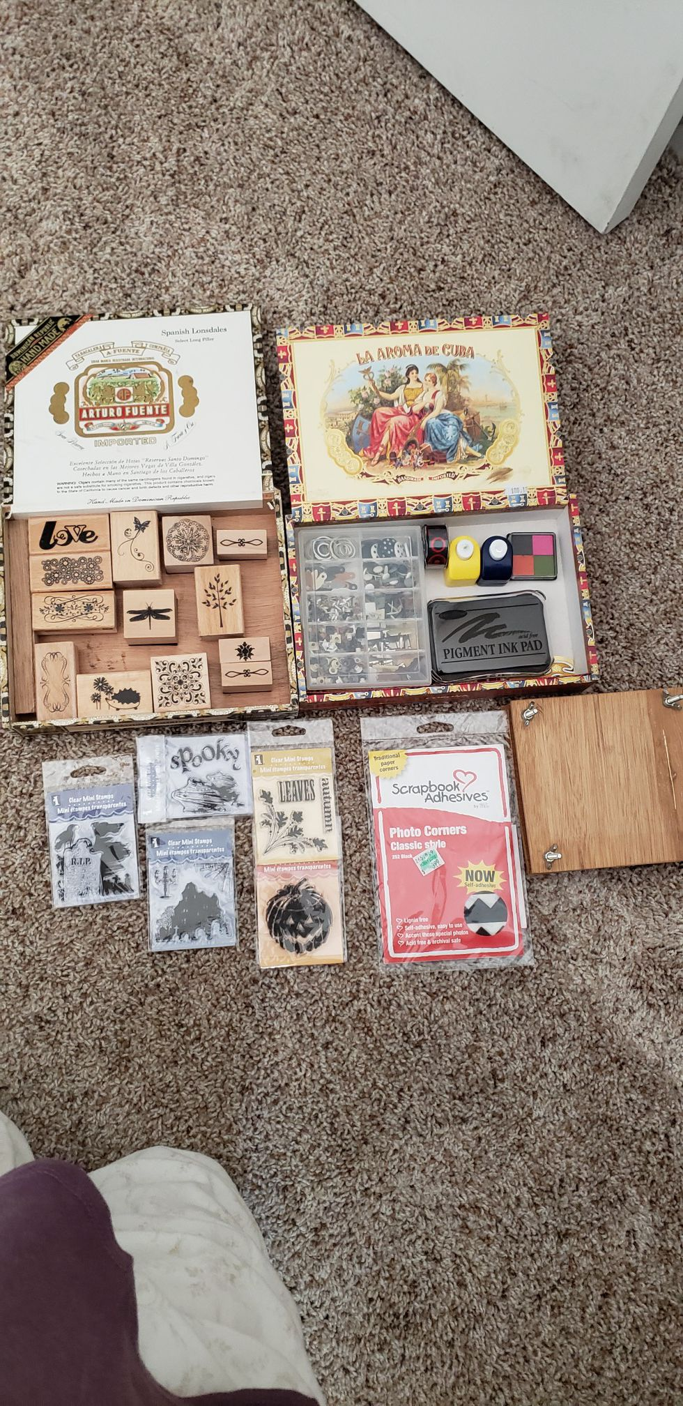 Stamps and Scrapbooking stuff