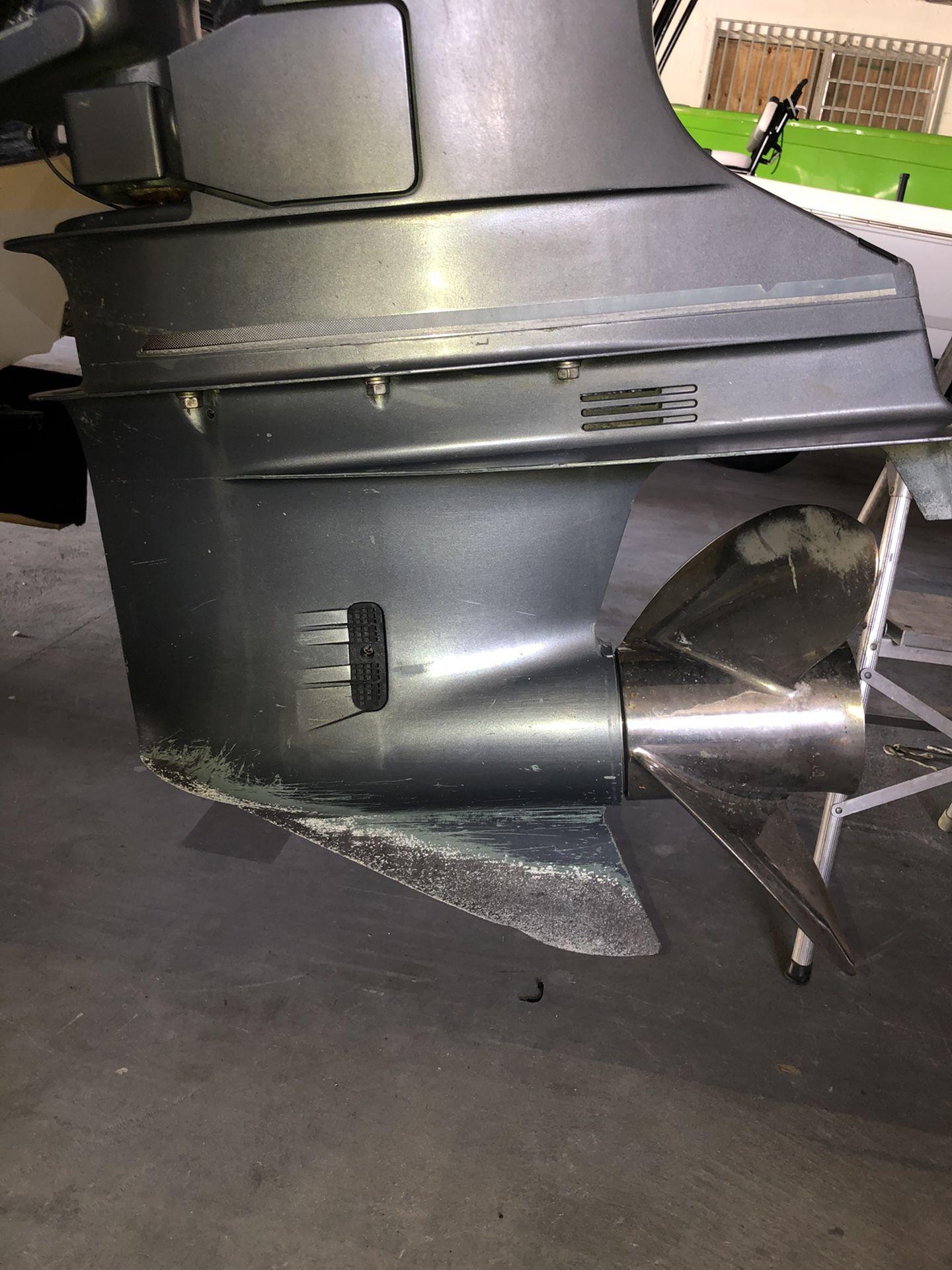 """Yamaha 250-300 hp HPDI 25"""" gear case (left hand)"""