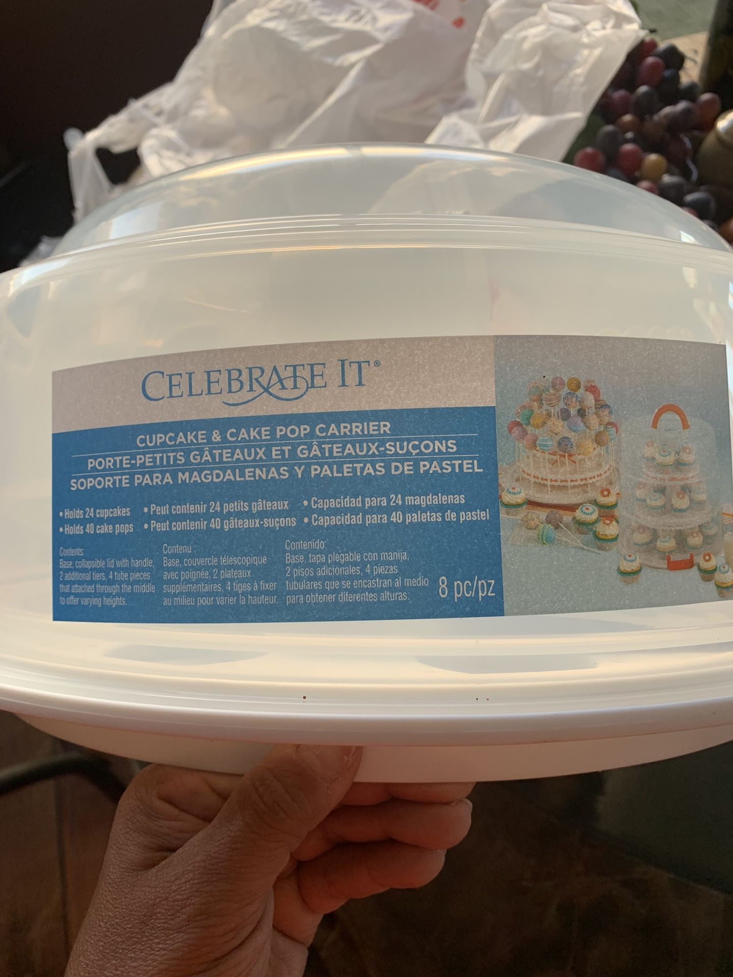Celebrate It® Cupcake & Cake Pop Carrier
