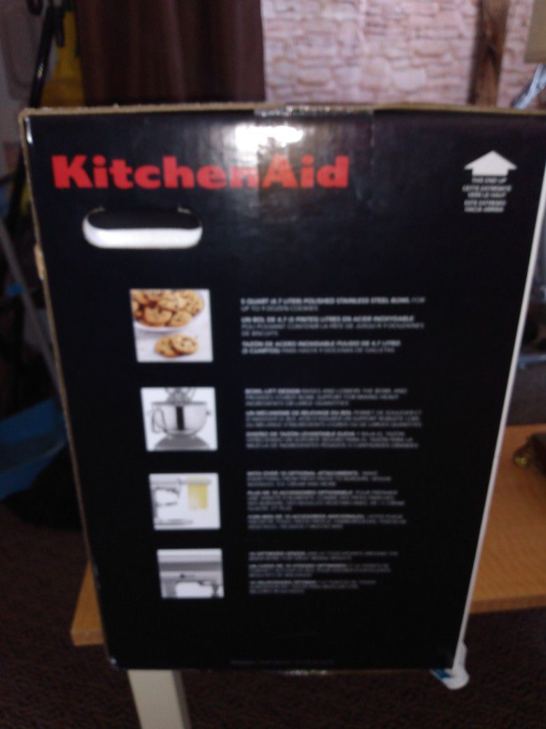 New Kitchen Aid, Still In Box