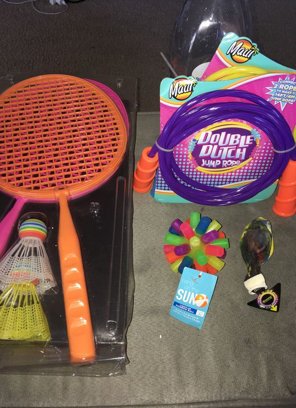 Outdoor Indoor Kids Play Package Perfect For A Gift For