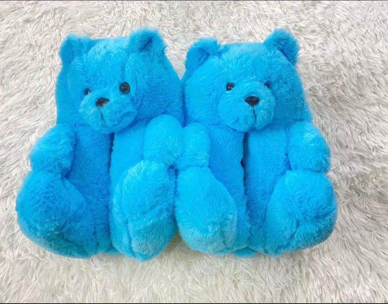 teddy bear house shoes .