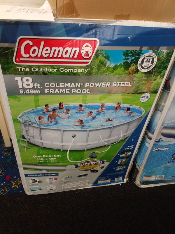 New Coleman 18\' x 48\