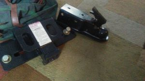 New Bumper step hitch receiver and new adjustable trailer tongue for Sale in Orlando, FL