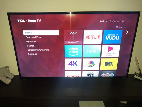 """55"""" TCL Roku TV for Sale in Lancaster, OH - OfferUp"""