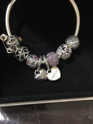 Pandora Charm bracelet with box! for Sale in Sanford, FL