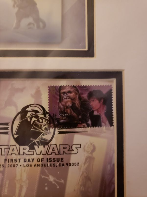 Chewbacca and solo stamp collectors item for Sale in Chula Vista, CA -  OfferUp