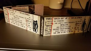 Metallica General Admission Tickets - 06.18.17 @ Soldier Field for Sale in Chicago, IL