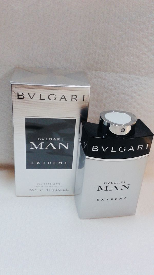 abe30bde420 BVLGARI MAN EXTREME COLOGNE FOR MEN ORIGINAL AND BRAND NEW IN THE BOX.