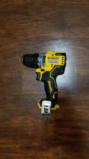 Photo 12V DeWalt DCD701 Xtreme 12V Max Brushless 3/8 in. Cordless Drill/Driver Tool Only No Battery No Charger