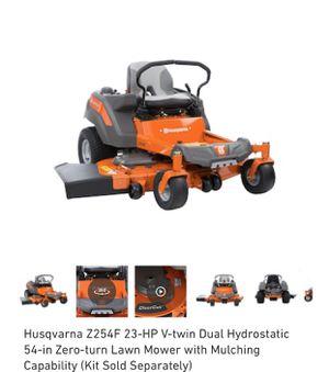 Photo Husqvarna Z254F 23-HP V-twin Dual Hydrostatic 54-in Zero-turn Lawn Mower with Mulching Capability