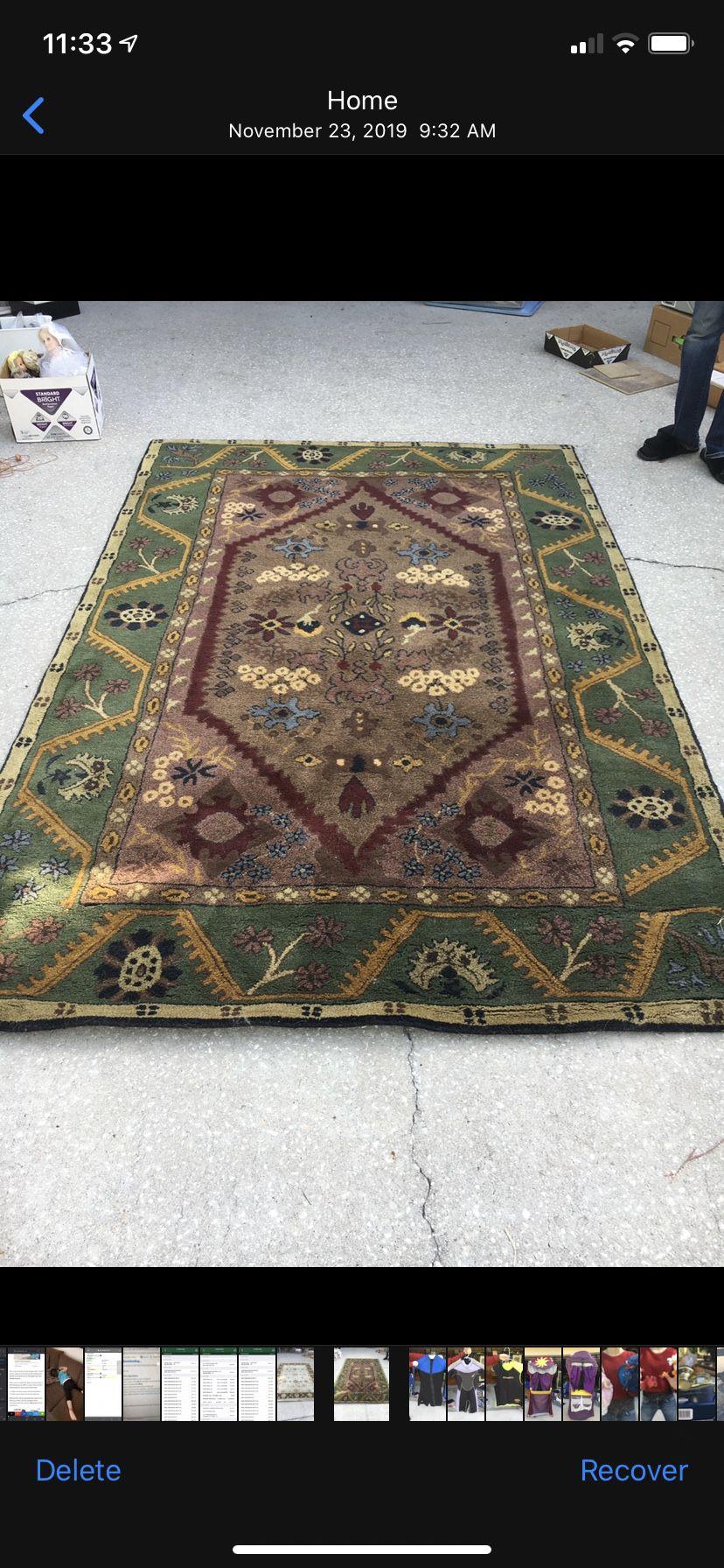 Pottery Barn Wool Carpet