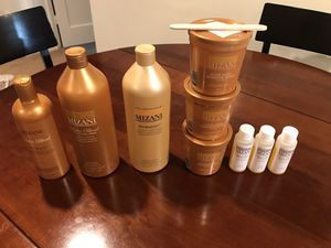 Relaxer - Mizani Butter Blend 3 Pieces + Neutralizing Shampoo & Conditioner + Base Scalp Protector for Sale in Arlington, VA