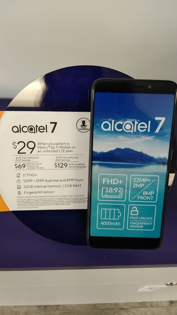 Alcatel 7 Metro By TMobile for Sale in Newberg, OR - OfferUp