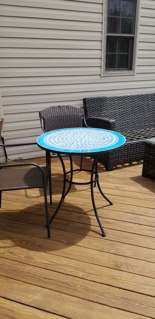 Cargo Garden Furniture Outdoor mosaic bistro table general in berea oh offerup workwithnaturefo