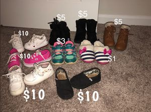 2767f18ca817 Toddler girl shoes for Sale in Salisbury