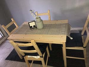 Dining Room Table W Chairs Seat Cushions For Sale In Red Lion PA