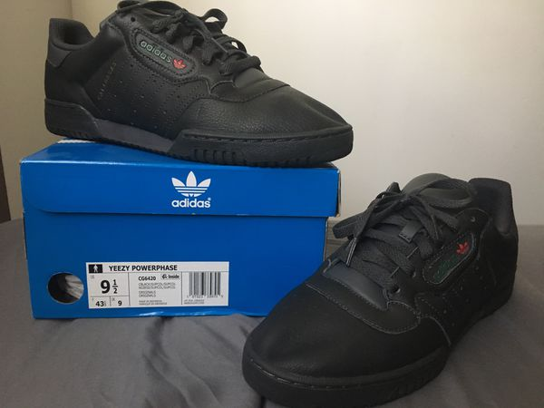 "33d5c091b Adidas Yeezy Powerphase Calabasas ""Core Black"" Sz 9.5 for Sale in ..."
