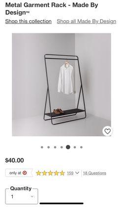 Target Clothing Rack USED!!!! Thumbnail