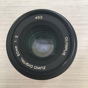 Olympus 50mm 2.0 macro lens for Sale in Seattle, WA