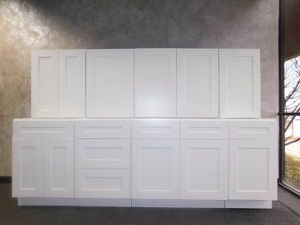 Brand New Leftover White Shaker Kitchen Cabinets For In Dallas Tx
