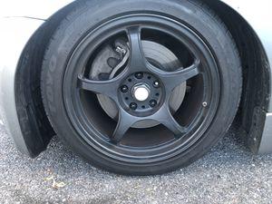 5 spoke black wheels for Sale in Rockville, MD