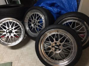 "18"" JNC 5x100 Wheels Tires Rims Toyota Corolla Scion tC Matrix Prius Celica for Sale in Silver Spring, MD"