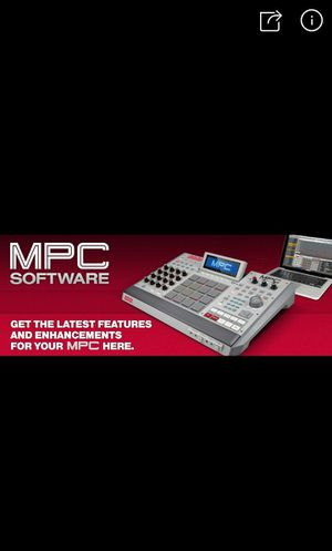 Mpc software. for Sale in Washington, DC