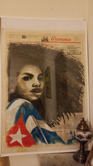 authentic Cuban painting on canvas for Sale in Chicago, IL
