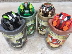 LEGO Bionicle Lot of 4...$15 For All 4 for Sale in Grand Prairie, TX