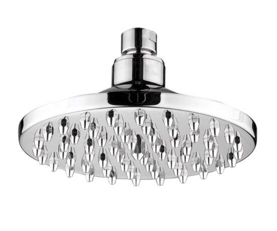 """New Whitehaus Showerhaus 6"""" round rainfall shower head"""