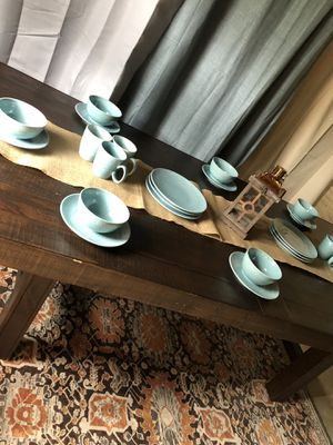 Large farmhouse style dining table for Sale in AMELIA CT HSE, VA