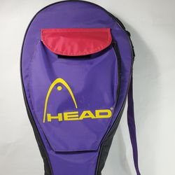 Head Tennis Multiple Rackets 2-3 Carry Bag Flap Closure Fron Pocket Purple Yellow Red Thumbnail