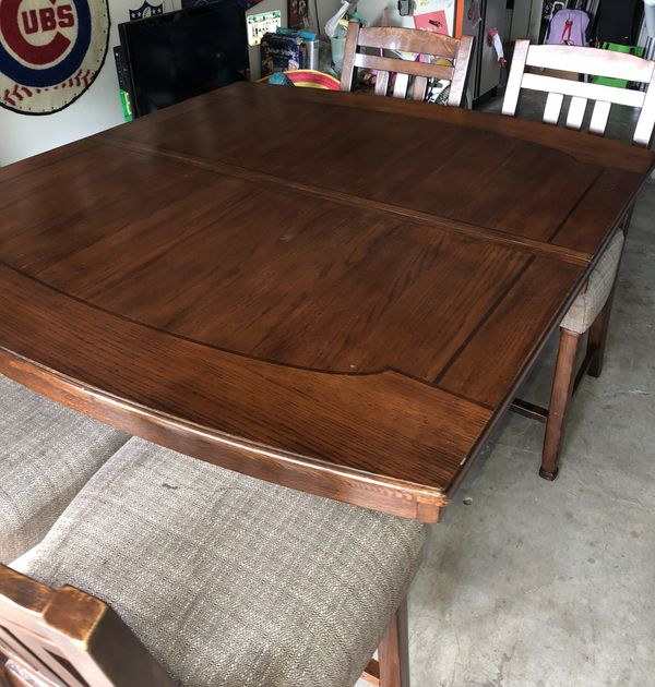 Solid Wood High Dining Table For Sale In Houston Tx Offerup