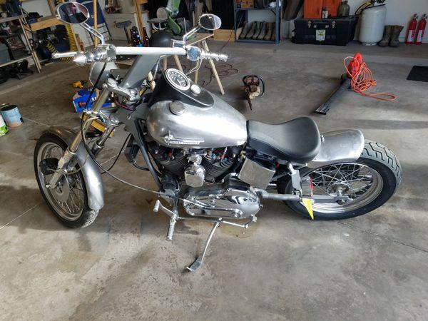 1973 ironhead custom short tail