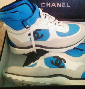 2018 HI TOP CHANEL TRAINERS for Sale in Silver Spring, MD