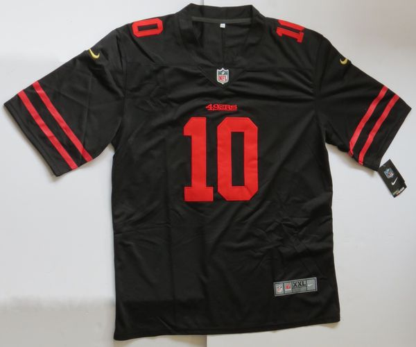 new product d08dd 88604 Jimmy Garoppolo Jersey San Francisco 49ers Black Color Rush Men's Sizes XL,  2XL, 3XL for Sale in Waltham, MA - OfferUp